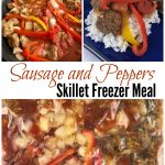 Sausage and Peppers Skillet Freezer Meal