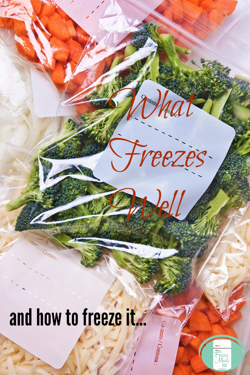 What freezes well and how to best freeze it