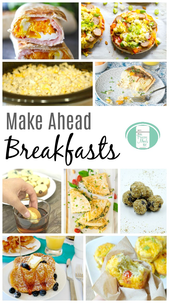 If you're a mom, you know how hard it can be to make breakfast healthy in the time you have. Enter the hero of our story, breakfast freezer meal recipes! #freezermeals101 #makeaheadbreakfast #breakfastrecipes #momrecipes