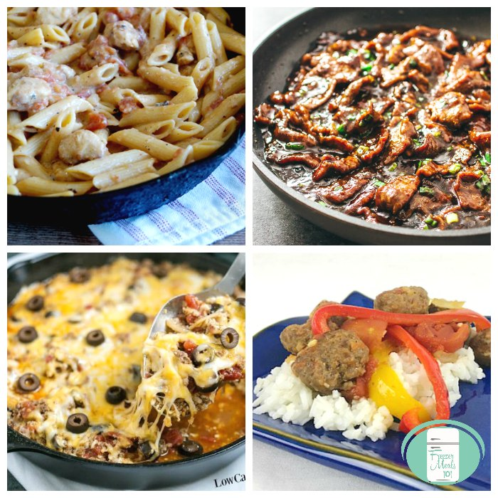 the best skillet freezer meals