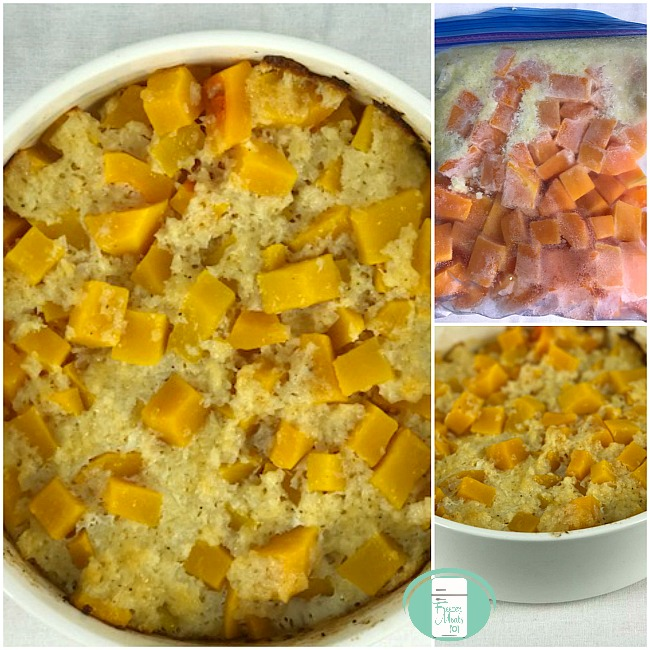 Butternut squash freezer meal side dish