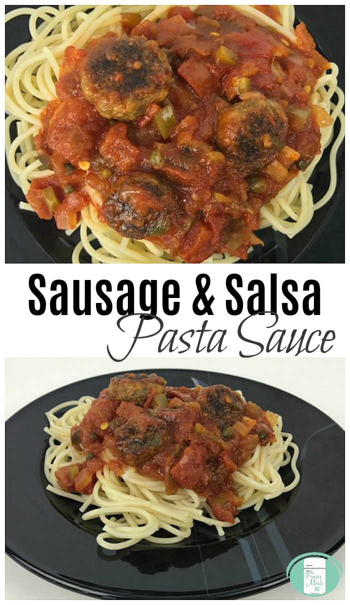Make Ahead Italian Sausage Pasta Sauce #freezermeals101 #freezercooking #pastarecipes #easyrecipes