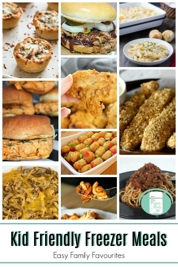 These kid friendly freezer meals will quickly become family favourites. #freezermeals101 #freezermeals #easyfamilyrecipes #weekdaymeals