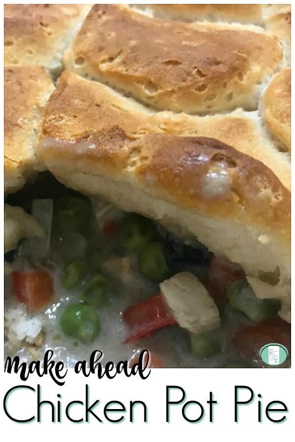 Make Ahead Chicken Pot Pie Filling #freezermeals101 #freezercooking #comfortfood #chickenrecipes #chickenpotpie #makeaheadmeals