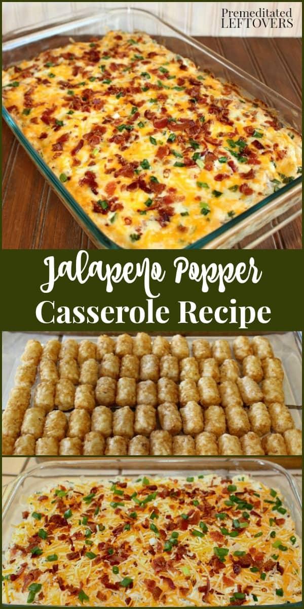 Jalapeno Popper Casserole Recipe