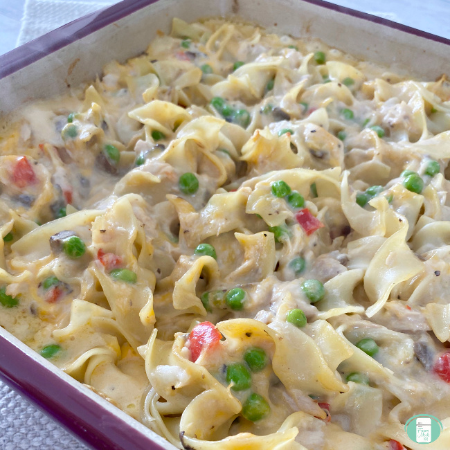 Easy Tuna Casserole Freezer Meal Freezer Meals 101