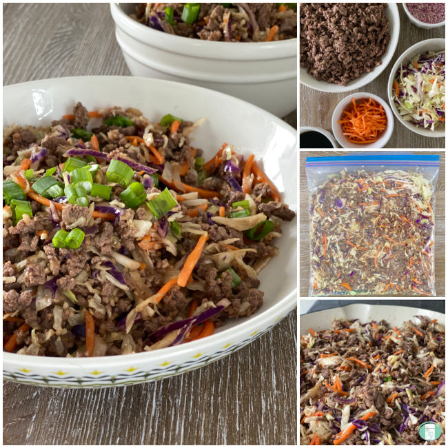 egg roll in a bowl ingredients and cooking steps